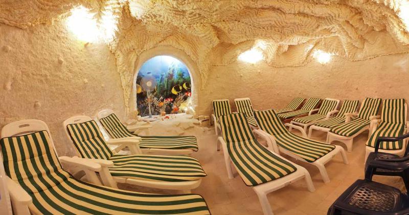 Санаторий Славутич Алушта соляная пещера
