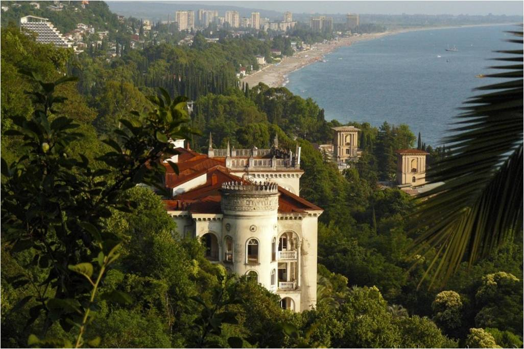 Автобусный тур Абхазия 3 ночи 4 дня