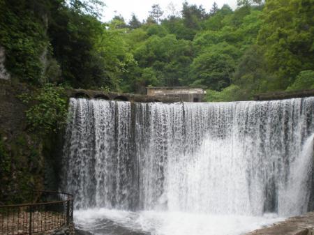 Новый Афон, водопад