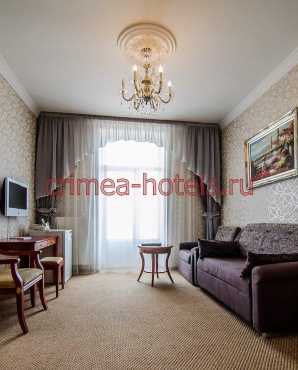 Отель Украина-Палас (Ukraine Palace) Евпатория Люкс улучшенный