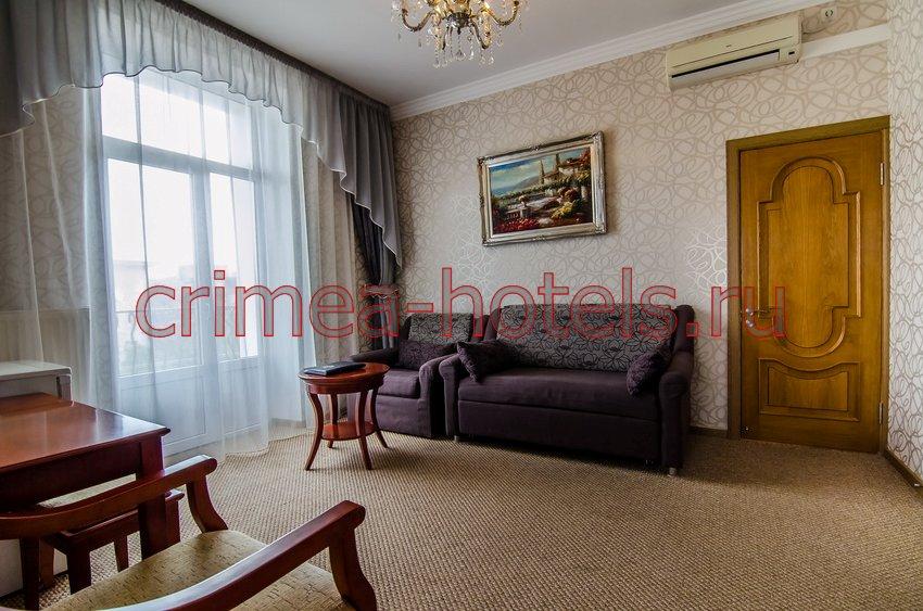 Отель Украина-Палас (Ukraine Palace) Евпатория Люкс коннекшен