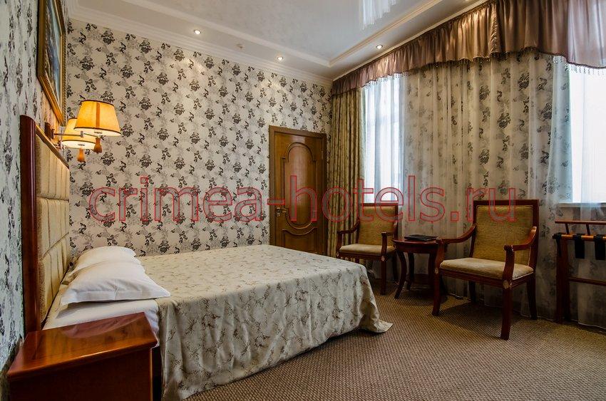 Отель Украина-Палас (Ukraine Palace) Евпатория Стандарт  двухместный без балкона
