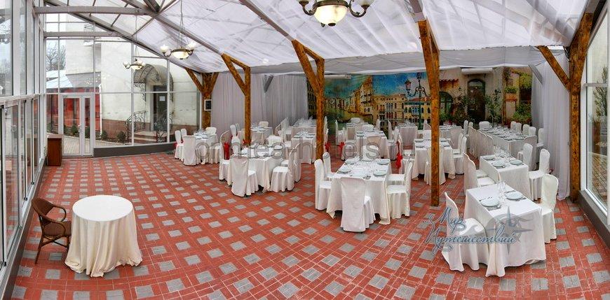 Отель ТЭС Отель Евпатория Ресторан
