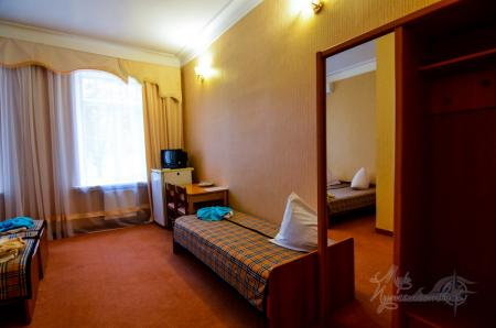 Корпус №4, 1-но комнатный 3-х местный