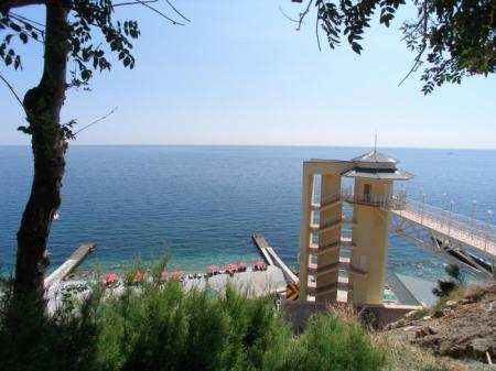 лифт на пляж