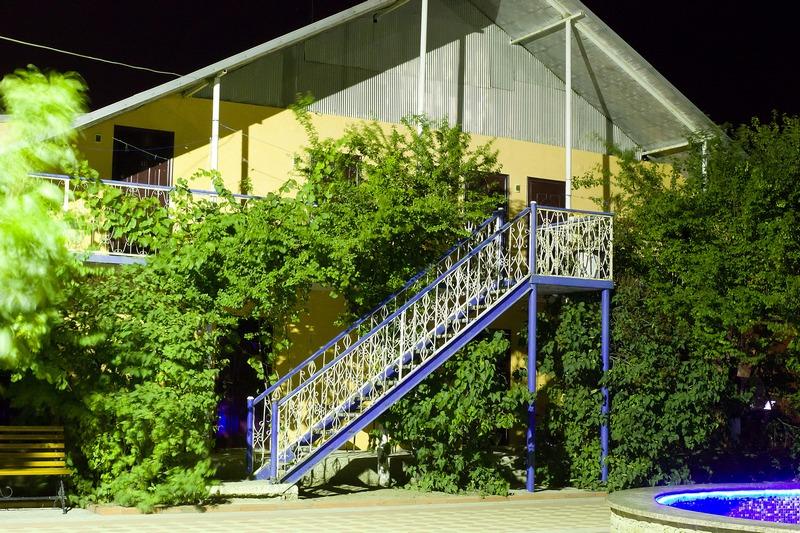 База Отдыха Запорожская Сечь Феодосия территория-