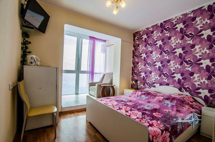 Гостевой Дом Маринер Заозерное 1 комнатный 2 местный номер