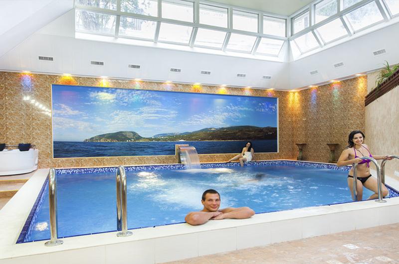 Отель Империал 2011 Ялта SPA, сауна