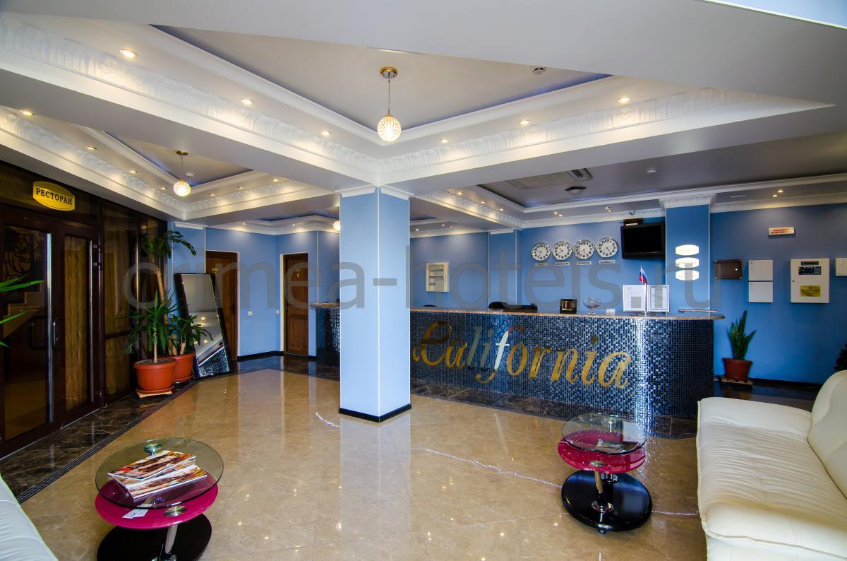 Отель Калифорния Евпатория Рецепшен