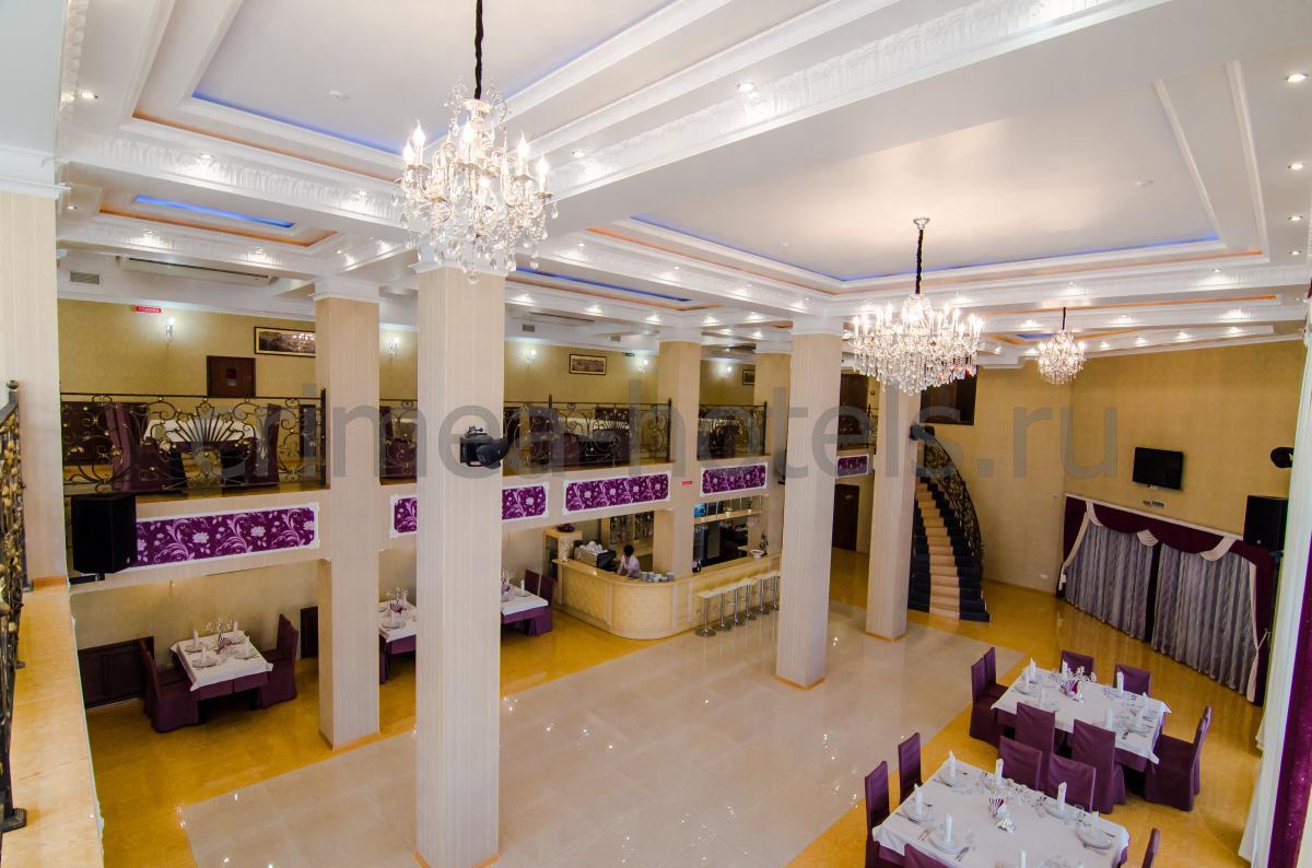 Отель Калифорния Евпатория Ресторан