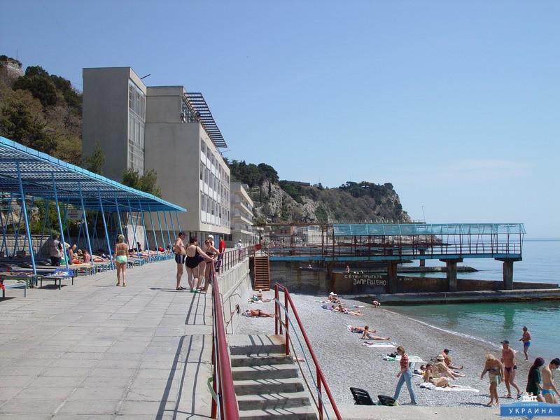 Отель Рубикон Гаспра пляж