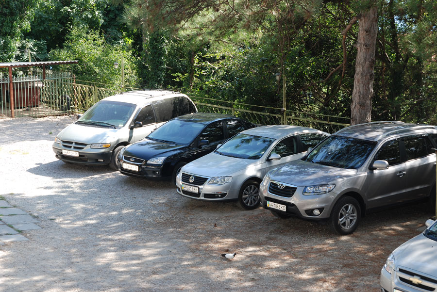 Отель Рубикон Гаспра парковка