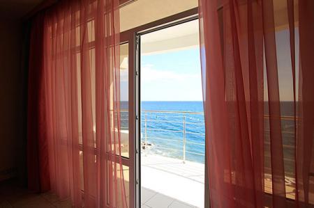 Вид с балкона Люкс 2-местный 1-комнатный Морской