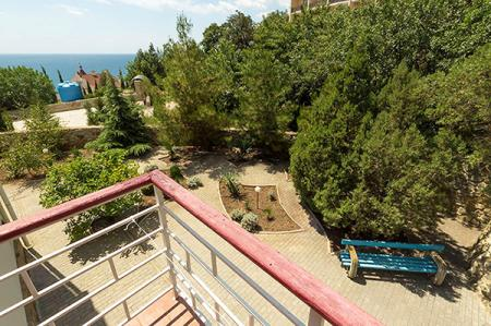 Вид с балкона стандартный 2-местный