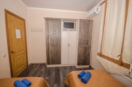Люкс 2х комнатный в корпусе до 4х человек