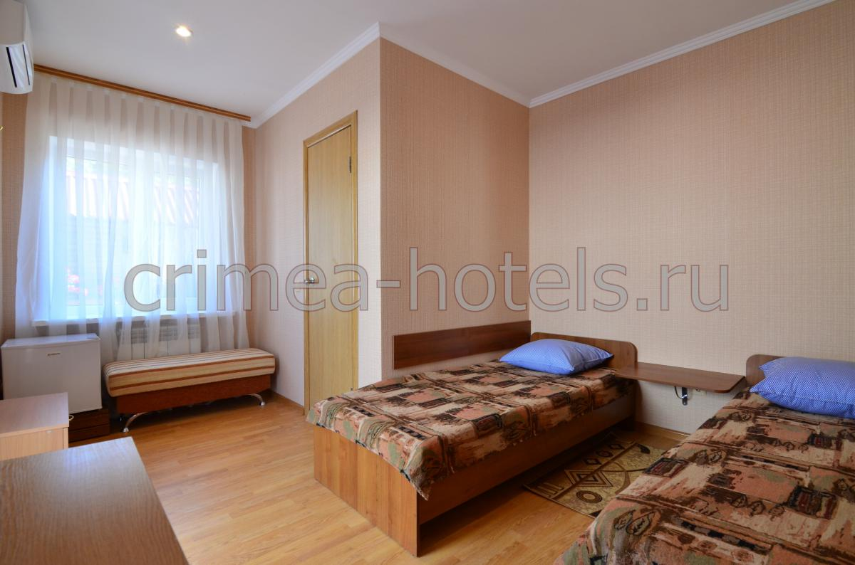 1-комнатный с раздельными кроватями
