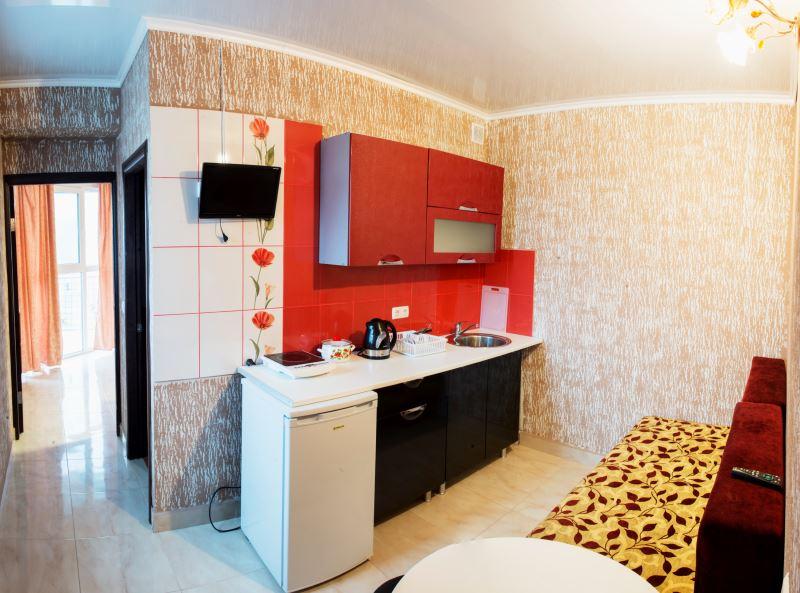 1-но комнатный 2-х местный апартамент с кухней