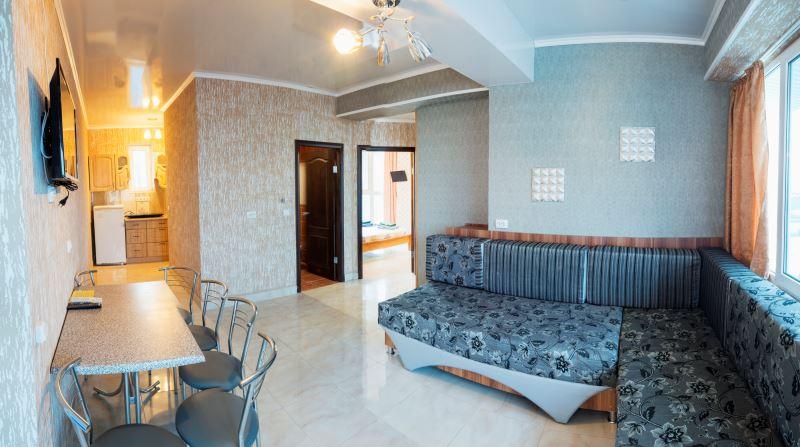 3-х комнатный 4-х местный апартамент с кухней