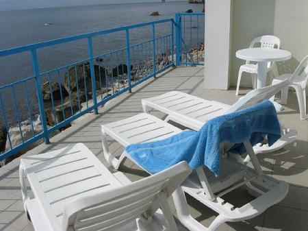 балкон номера, корпус Ассоль-море