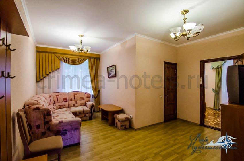 Санаторий Горный Гаспра Корпус №3, 2-х комнатный 2-х местный улучшенный