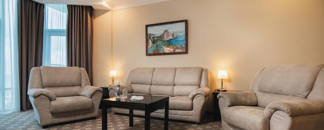 Отель Aquamarine Resort & SPA (отель Аквамарин) Севастополь Premier Suite