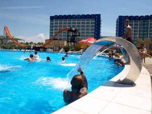 Отель Aquamarine Resort & SPA (отель Аквамарин)
