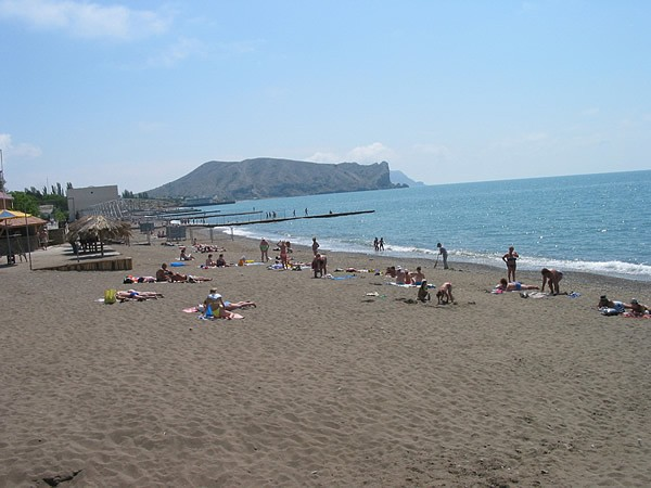 Судакский пляж
