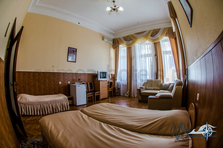 Санаторий Белоруссия Кореиз 2-х местный Улучшенный, корпус 1