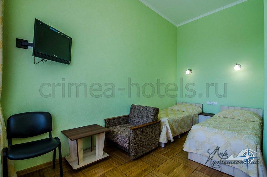 Санаторий Белоруссия Кореиз 2-х комнатный 2-х местный Джуниор Сюит, корпус 4