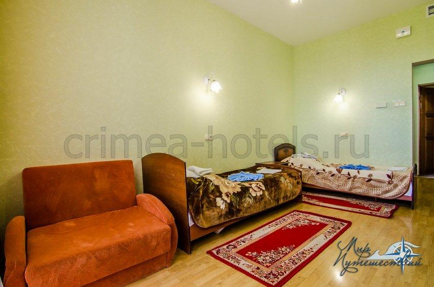 Санаторий Белоруссия Кореиз 2-х местный Стандарт, корпус 5
