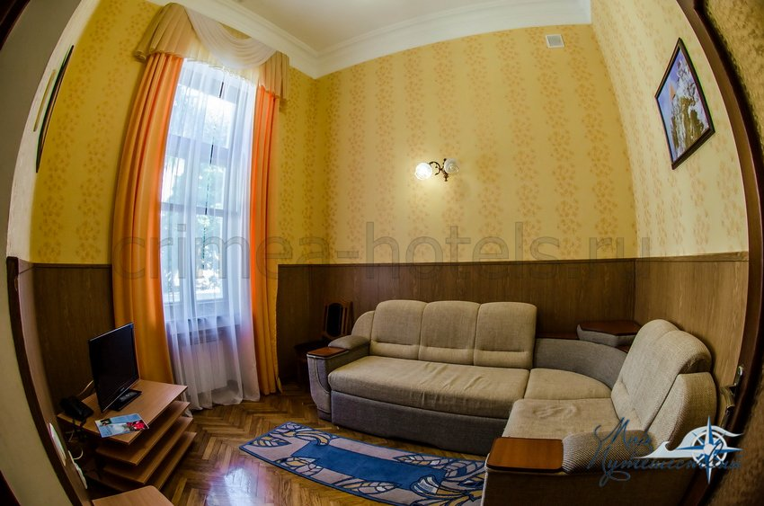 Санаторий Белоруссия Кореиз 2-х комнатный 2-х местный Стандарт, корпус 1