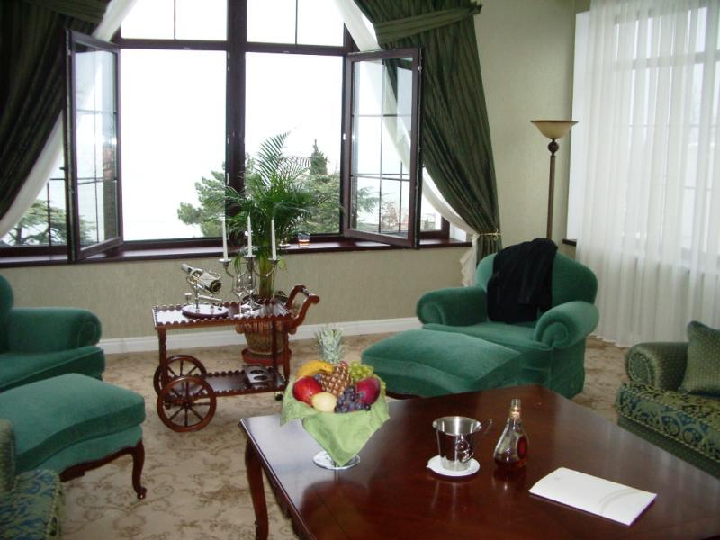 SPA-Отель Riviera Sunrise Resort & SPA (бывший Radisson) Алушта Президентский люкс