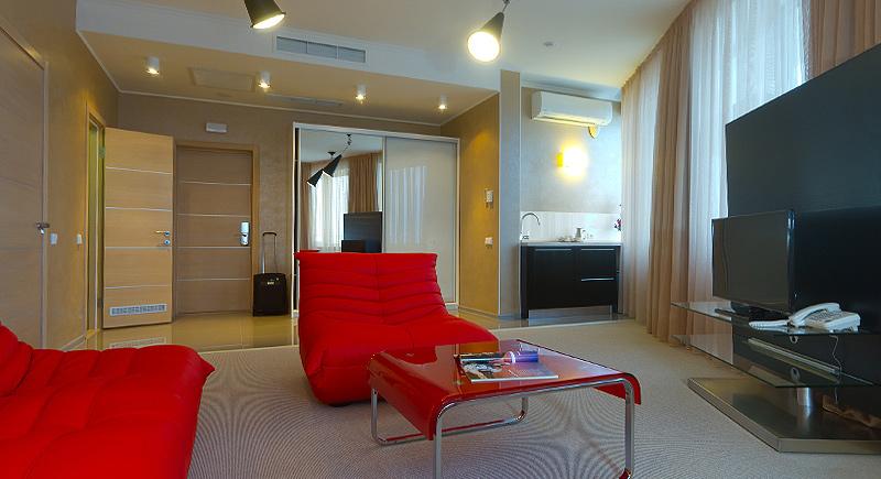 Отель Европа Партенит Апартаменты «Делюкс»
