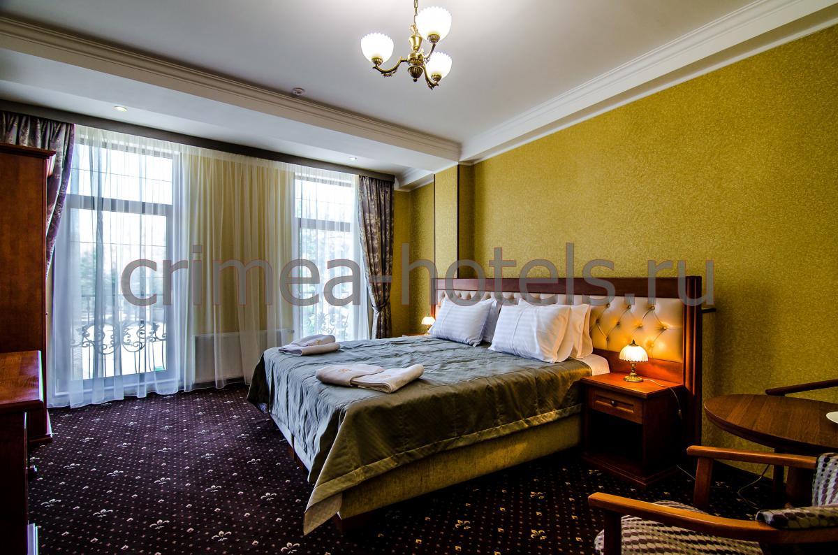 Отель Рицк (Ritsk) Евпатория Стандарт с двуспальной кроватью