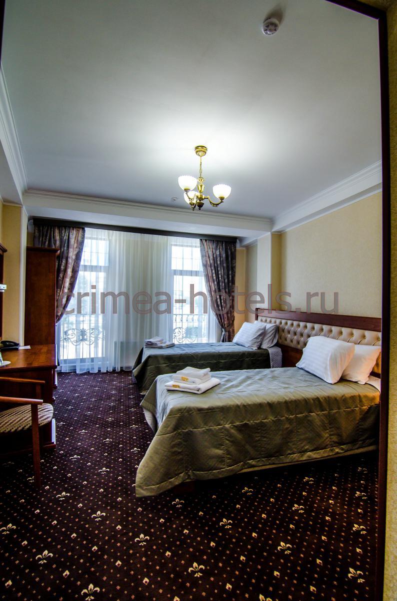 Отель Рицк (Ritsk) Евпатория Стандарт с раздельными кроватями