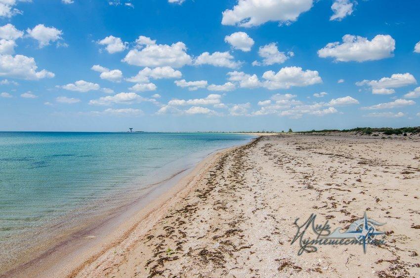 Пансионат Уют-Заозерное Заозерное Пляж