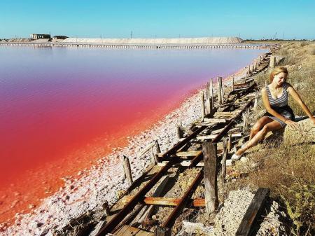 Экскурсионный тур Розовое озеро (индивидуальная экскурсия) Евпатория