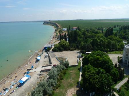 пляж и территория