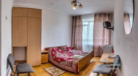 Главный корпус -  1 комнатный 2 местный с кондиционером