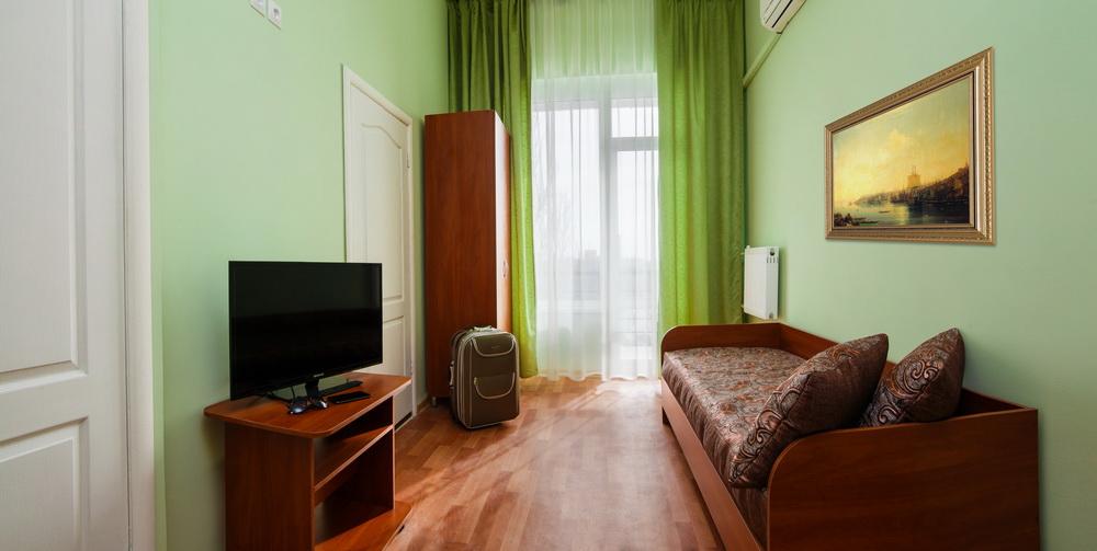 Санаторий Таврия Евпатория Корпус №1 (4 этажа) 2-х комнатный 3-х местный Полулюкс