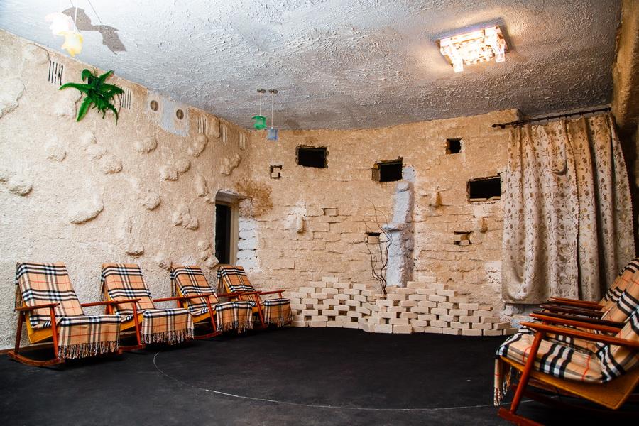 Санаторий Таврия Евпатория Соляная комната