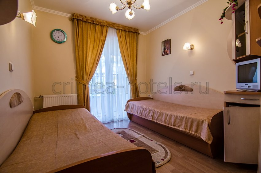 Санаторий Мечта Евпатория 5 корпус - 1-комнатный 2-местный Стандарт