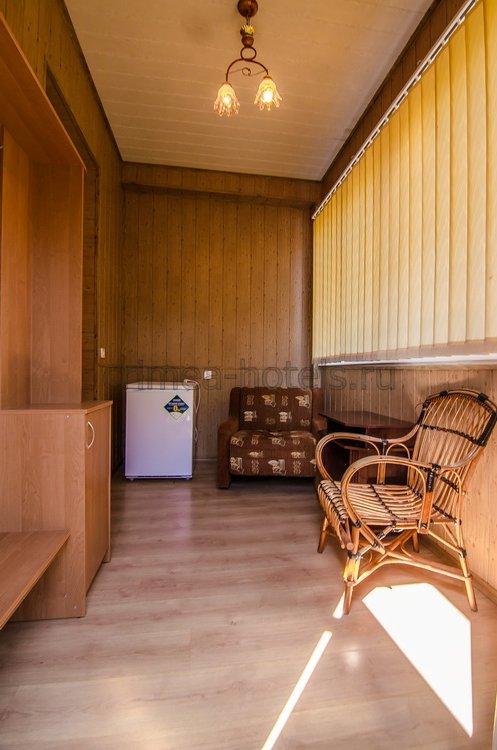 Санаторий Мечта Евпатория 7 корпус - 1-комнатный 2-местный  стандарт
