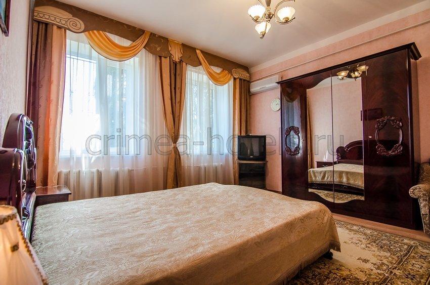 Санаторий Мечта Евпатория 7 корпус - 1-комнатный 2-местный Люкс