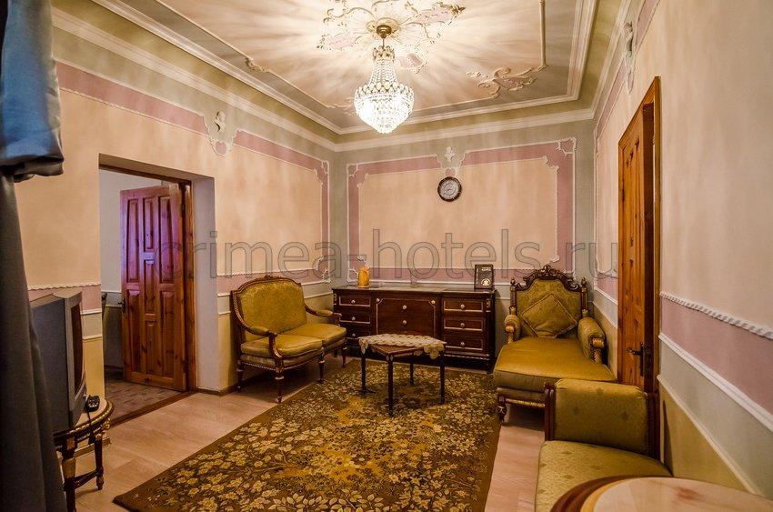 Санаторий Мечта Евпатория 7 корпус - 2-комнатный 2-местный Люкс