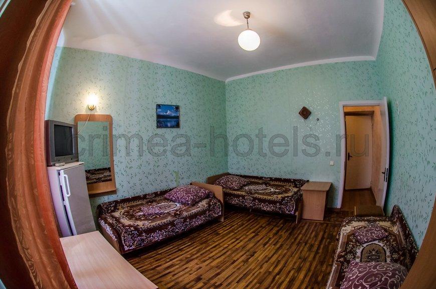 Санаторий Мечта Евпатория 2 корпус - 1 комнатный 3 местный