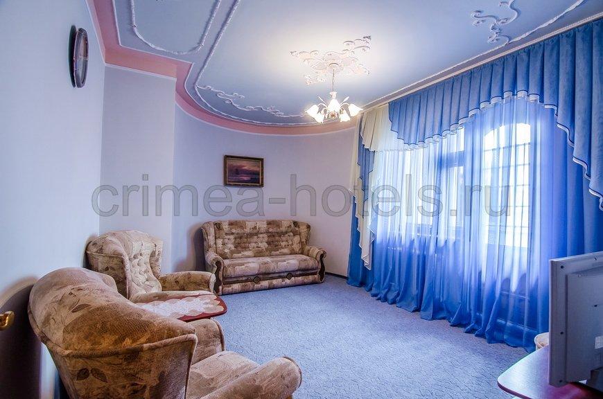 Санаторий Мечта Евпатория 8 коттедж - 5-ти комнатный коттедж до 4чел., №1