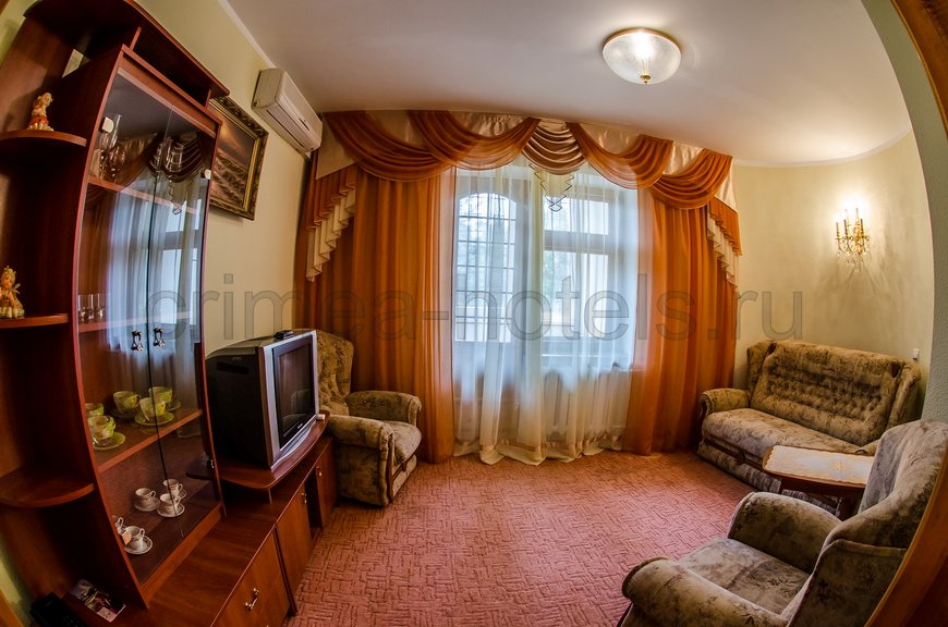 Санаторий Мечта Евпатория 8 коттедж - 5-ти комнатный коттедж до 4чел., №2