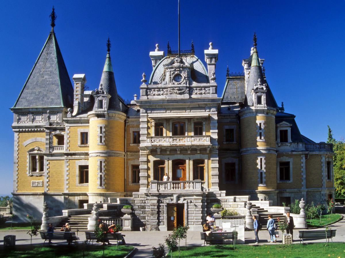 Памятники, исторические объекты Массандровский дворец Ялта Массандровский дворец, Ялта