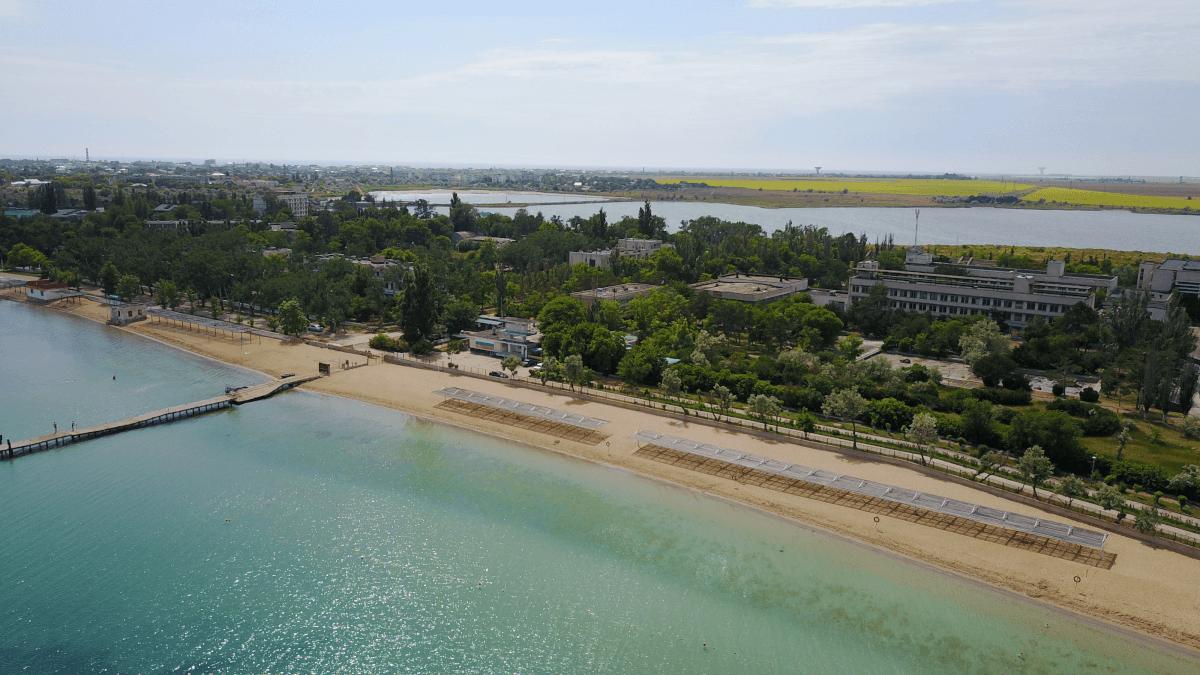 Прометей Заозерное курорт Евпатория Западный Крым